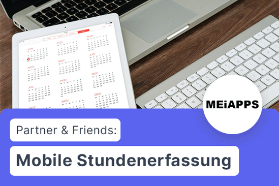 xentral connect: Mobile Stundenerfassung via MeiApps